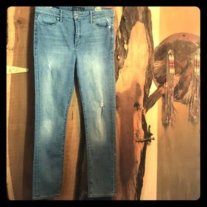 LUCKY BRAND Hayden High Rise Skinny Blue Jean 31